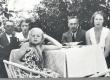 E. Eesorg, F. Tuglas, E. Tuglas, P. Kurvits, S. Oinas-Kurvits. Meriväljal, aug. 1939 - KM EKLA