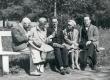 J. Vares-Barbarus, E. Tuglas, H. Talvik, E. Vares, F. Tuglas Pärnus 1929 - KM EKLA