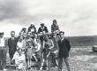 Vormsi saarel, juuli 1931. Eest II reas vas. II F. Tuglas, III reas vas. II S. Oinas-Kurvits, IV E. Tuglas - KM EKLA