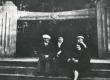 Pühajärve, sügis 1936, vasakul R. Kleis, F. Tuglas - KM EKLA