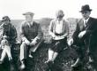 Petseri-reis, kevad 1937. Paremalt F. Tuglas, E. Tuglas - KM EKLA