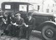 Petseri-reis, kevad 1937. Vasakul E. Tuglas, paremal F. Tuglas - KM EKLA