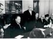 Soome külalised Tallinnas 1964. Paremalt: 1) Friedebert Tuglas, 2) Sylvi Kekkonen - KM EKLA