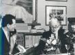 R. Sikk ja F. Tuglas 2. märtsil 1971 - KM EKLA