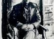 "E. Okas ""F. Tuglase portree"" 18. IV 1946 - KM EKLA"