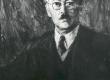 """V. Väli """"F. Tuglase portree"""", kevad 1947 - KM EKLA"""