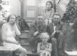 S. Oinas-Kurvits, P. Kurvits, F. Tuglas, E. Eesorg ja E. Tuglas Meriväljal, aug. 1939 - KM EKLA