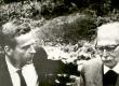 Uno Laht ja Friedebert Tuglas ca 1967/68. a. Orig.: Fr. Tuglase majamuuseumis - KM EKLA
