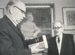 Fr. Tuglas ja E. Päll Tuglase 85. sünnipäeval - KM EKLA