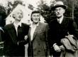 Elo Tuglas, Betti Alver ja Friedebert Tuglas Ahjal 12. sept. 1955. a. - KM EKLA