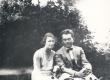 Elo ja Friedebert Tuglas Haapsalus 1932. a. - KM EKLA