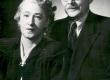 Elo ja Friedebert Tuglas jaan. 1950. a. Orig.: F. Tuglase majamuuseumis - KM EKLA