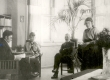 Friedebert Tuglas, Hanna-Maria Ålander, Jussi Ålander, Elsa-Kaija Ålander Soomes 1910. a. - KM EKLA