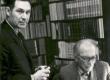 Evald Okas ja Friedebert Tuglas okt. 1965. a. - KM EKLA