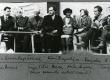 Vas.: J. Rugojev, H. Runnel, R. Sirge, Titov, D. Vaarandi, K. Merilaas, R. Kaugver, A. Sang Luulepäevadel Karjalas 5. VIII 1968. a - KM EKLA