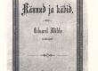Vilde, Eduard, Kännud ja käbid, Trt, 1892, kaas - KM EKLA