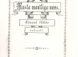 """Vilde, Eduard, uudisjutt """"Musta mantliga mees"""", Tln., 1886, kaas - KM EKLA"""