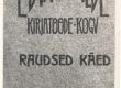 Vilde, Eduard, Raudsed käed, 1910, kaas - KM EKLA