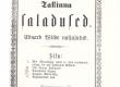 """Vilde, Eduard, naljajutud """"Tallinna saladused"""", Tallinn, 1888, kaas - KM EKLA"""