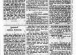 Vilde, Eduard, Kosilane Rakverest (algus), Postimees 29. VIII 1889, nr 98 - KM EKLA