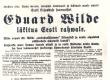Vilde, Eduard, läkitus Eesti rahvale (lendlehe algus) - KM EKLA