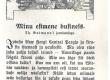 Vilde, Eduard, Minu esimene business. Rmt-st: E. Vilde, Muiged, Tln [1914], lk 44 Th. Gutmanni joonisega - KM EKLA
