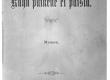 """Vilde, Eduard, """"Kuhu ei paista päike"""" 1901 (tiitelleht) - KM EKLA"""