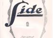 Vilde, Eduard, Side, [1922], kaas - KM EKLA