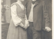 Vilde , Eduard ja Linda Jürmann umb 1905.a. (peakatteta) - KM EKLA