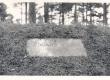 Vilde, Eduard, mälestustahvel Metsakalmistul Tallinnas - KM EKLA