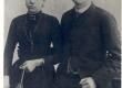 Vilde Eduard ja Antonie Vilde (sünd. Gronau), 1891.a. Berliinis - KM EKLA