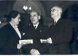 Vasakult: 1) , 2) Johannes Semper, 3) A. Venclava (Leedu) - KM EKLA