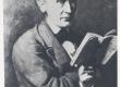 Köler, Johann, koopia maalist Kreutzwald Kalevipoja käsikirjaga, 1864 - KM EKLA