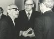 Mart Raud ja Mats Traat VII Kirjanike kongressil 5.-7. IV 1976. a - KM EKLA