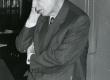 Valmar Adams oma 75. juubelipäeval 30. I 1974. a TRÜ kohvikus - KM EKLA