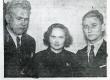 """1938. a. """"Looduse"""" romaanivõistluse laureaadid: Elmar Õun, Leida Tigane, Karl Ristikivi - KM EKLA"""
