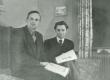 Valev Uibopuu ja Karl Ristikivi [1946] - KM EKLA