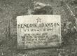 Hendrik Adamsoni haud Helme kalmistul - KM EKLA