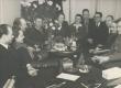 Vasakult: 1) Harald Joasoo, 2) Erika Jensen, 3) Hugo Tõldsepp, 4) Gottfried Under, 8) Aksel Vain 23. nov. 1944 - KM EKLA