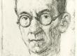 Aino Bach. Mart Raud (ofort 1947) - KM EKLA