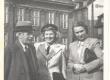 Gustav Suits, [Ella] Ilbak, Aleksandra Aavik PEN-klubi kongressil Kopenhaagenis Juunis 1948 - KM EKLA