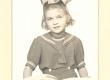 Johannes Aaviku tütar Silvia Stockholmis 4. dets. 1946 - KM EKLA