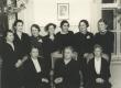 Naisühingu aastapäev 4.12.1938. Juhatus koos uuesti valitud auliikmetega - KM EKLA