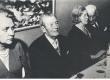 Aleksandra Aavik, Johannes Aavik, Marie Under, Artur Adson (Johannes Aaviku juubel Rootsis) - KM EKLA