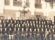 Tallinna Reaalkooli õpilasi. I reas vas. 9) Ernst Peterson-Särgava - KM EKLA