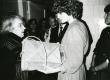 Betti Alver oma kodus, Koidula tn 8-2 J. Liivi nim. luuleauhinna vastuvõtmisel aprillis 1968. a.  - KM EKLA