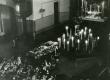 Betti Alveri põrm Tartu Peetri kirikus 23. juunil 1989. a.  - KM EKLA