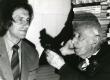 Hando Runnel ja Valmar Adams Betti Alveri 80. a. juubelil 23. nov. 1986. a - KM EKLA