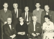 I r. vas. H. Kompus, S. Ekbaum, K. Ast, A. Willmann, II r. vas. H. Asi, A. Rannit, A. Oras, E. Krants, E.V. Saks Pen-klubi kongressi ajal New Yorki Eesti Majas 1966. a. - KM EKLA