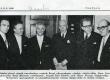 Eesti Vabariigi aastapäevaaktus Stockholmis 25.2.1968. a. Vas.: Sören Norrby, Bengt Börjesson, Karl Ristikivi, Birger Nerman, Alf Wennerfors, Stellan Arvidson - KM EKLA